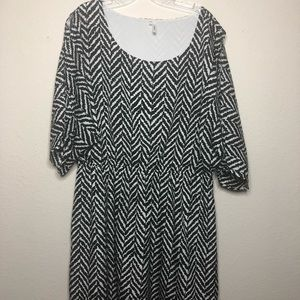 NWOT Maurice's dress with open slit on sleeves